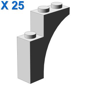 BRICK WITH BOW 1X3X3 X 25