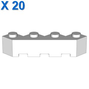 FACET BRICK 4X4X1 X 20