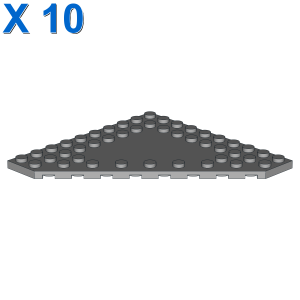 CORNER PLATE 10X10 X 10