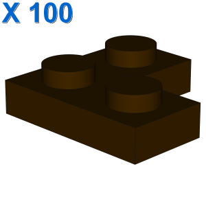 CORNER PLATE 1X2X2 X 100
