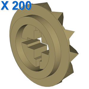 CONICAL WHEEL Z12 X 200