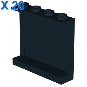 WALL ELEMENT 1X4X3, ABS X 20