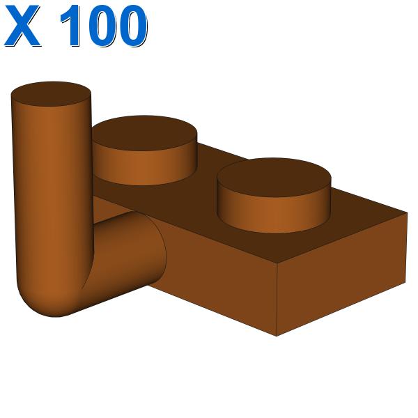PLATE W. HOOK 1X2 X 100