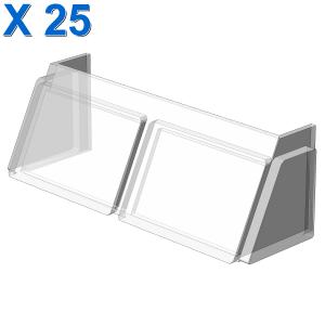 GLASS FOR WINDSCREEN 2X6X2 X 25