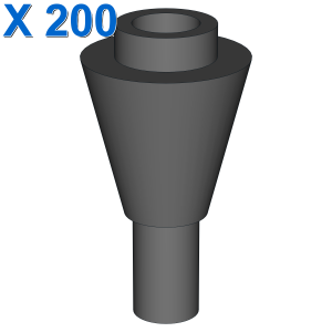 CONE 1X1 INVERTEDE W. SHAFT X 200