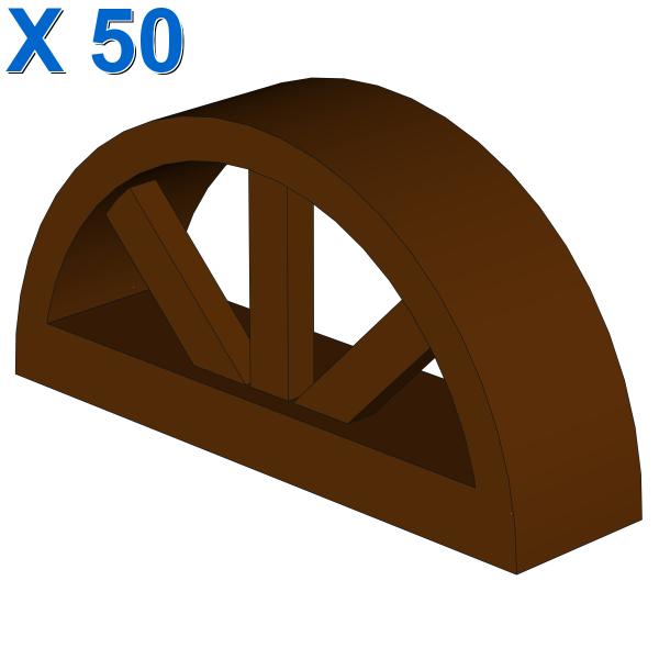 BOW WINDOW 1X4X1 2/3 X 50
