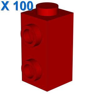 Brick, Modified 1 x 1 x 1 2/3 with Studs on 1 Side X 100