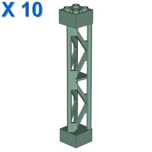 LATTICE TOWER 2X2X10 W/CROSS X 10