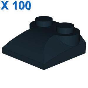 PLATES W. BOWS 2X2 X 100