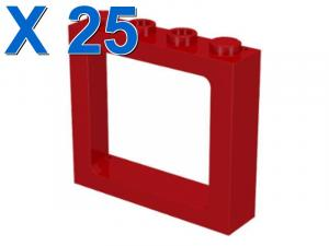 TRAIN WINDOW FRAME 1X4X3 X 25