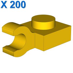 PLATE 1X1 W/HOLDER VERTICAL X 200