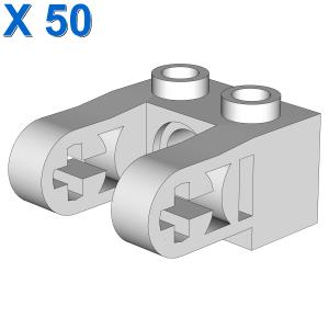 2X1 ST.Ø4.9 HOLE W. HALF BEAM X 50