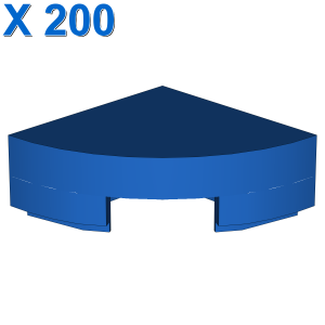 1/4 CIRCLE TILE 1X1 X 200