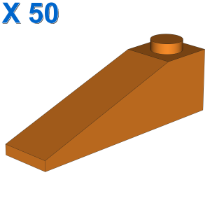 RIGHT ROOF TILE 2X4 W/ANGLE X 50