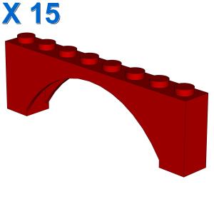 BRICK W. BOW 1X8X2 X 15