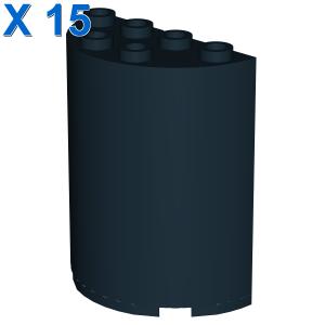 WALL ELEMENT, ROUND 2X4X4 X 15