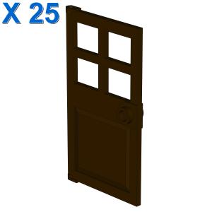 D. W. PANES F. FRAME 1X4X6 X 25