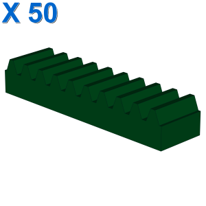 TOOTHED BAR M=1, Z=10 X 50