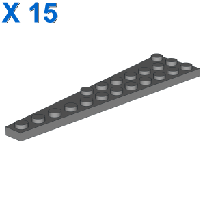 RIGHT PLATE W. ANGLE 3X12 X 15