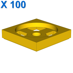 TURN PLATE 2X2, LOWER PART X 100