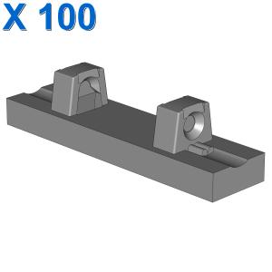 FLAT TILE 1X4 W/STUBS VERTICAL X 100