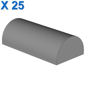 BOWED ROOF RIDGE 2X4X1 X 25