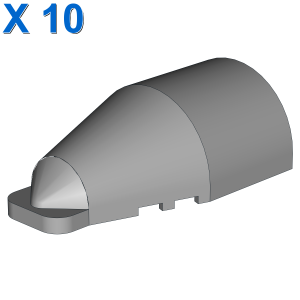 COCKPIT 19° BOWED X 10