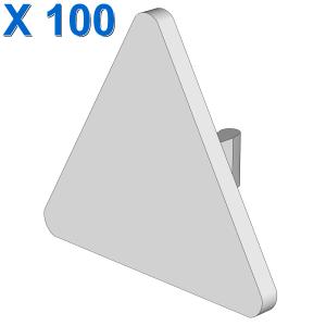 TRIANGULAR SIGN W. SNAP X 100