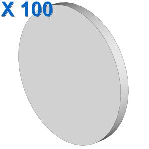 ROUND SIGN W. SNAP X 100
