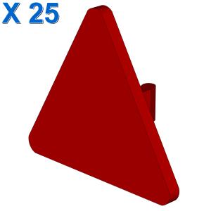 TRIANGULAR SIGN W. SNAP X 25
