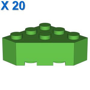 CORNER BRICK 45 DEG. 3X3 X 20