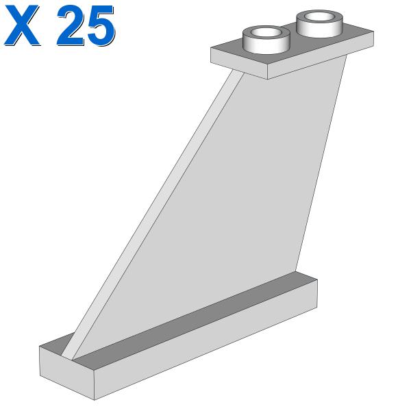 RUDDER 1X4X3 X 25
