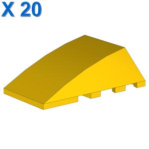 BRICK 4X4 W. BOW/ANGLE X 20