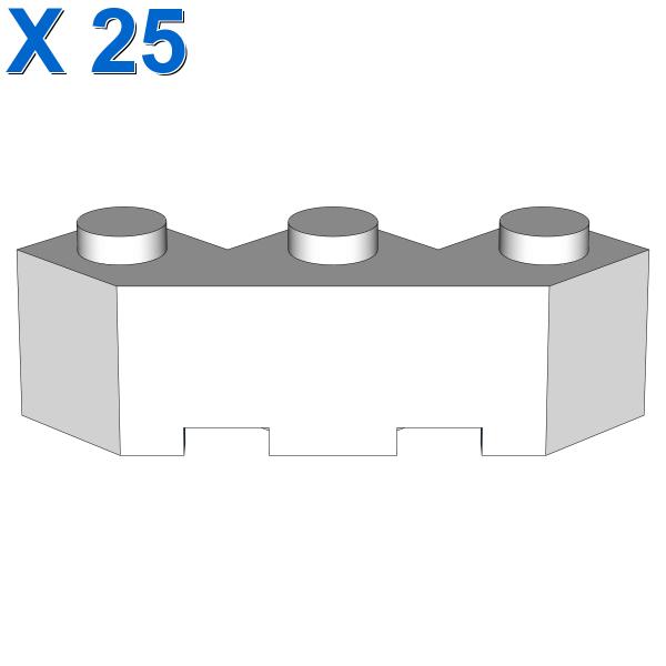 FACET BRICK 3X3X1 X 25
