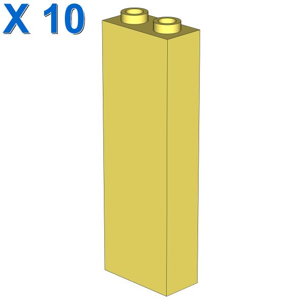 BRICK 1X2X5 X 10