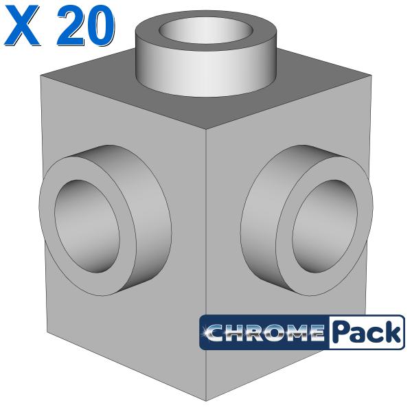 BRICK 1X1 W. 4 KNOBS, 20 pcs