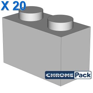 BRICK 1X2, 20 Stück