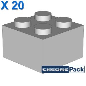 BRICK 2X2, 20 pcs
