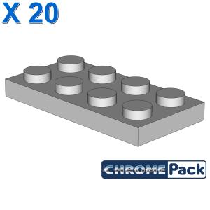 PLATE 2X4, 20 Stück