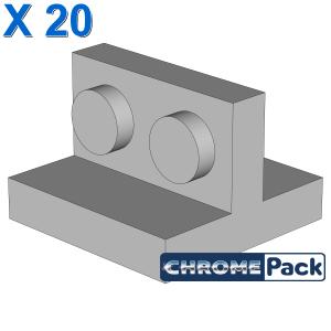 Bracket 2 x 2 - 1 x 2 Centered, 20 pcs