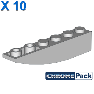 BRICK 1X6 W/BOW, REV., 10 pcs