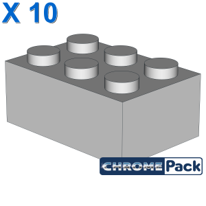 BRICK 2X3, 10 pcs