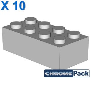 BRICK 2X4, 10 pcs