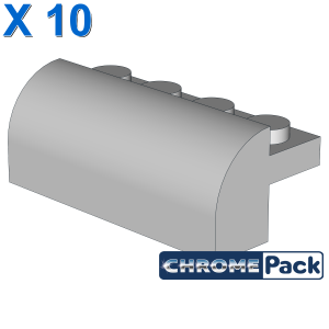 BRICK W. BOW 4X1X1 1/3, 10 pcs