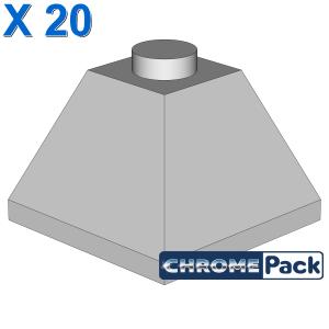 CORNER BRICK 2X2/45° OUTSIDE, 20 Stück