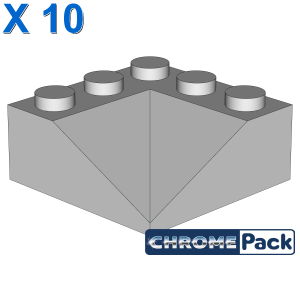 CORNER BRICK 3X3/22.5° INSIDE, 10 Stück