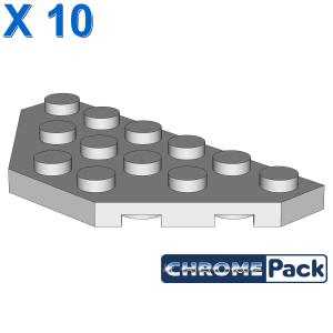 CORNER PLATE 3X6, 10 Stück