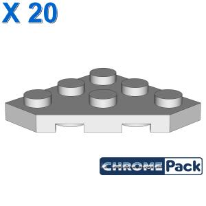 CORNER PLATE 45 DEG. 3X3, 20 Stück