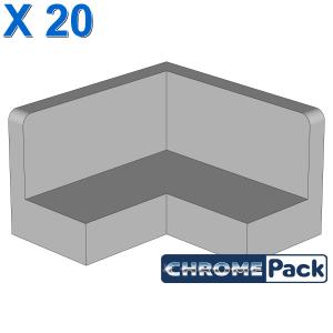 CORNER WALL ELEMENT 2X2, 20 Stück