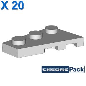 LEFT PLATE 2X3 W/ANGLE, 20 Stück